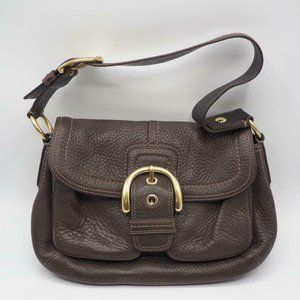 Coach Authentic Soho Buckle Brown Leather Hobo